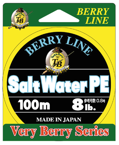 BERRY LINE Salt Water PE 2gou lb.test 25