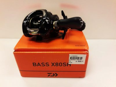 NEW REEL DAIWA BASS X80SH